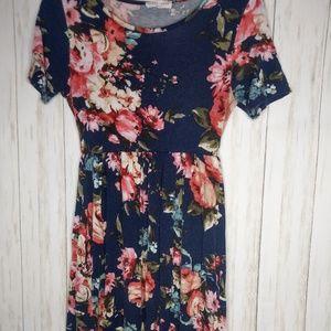 XS floral dress
